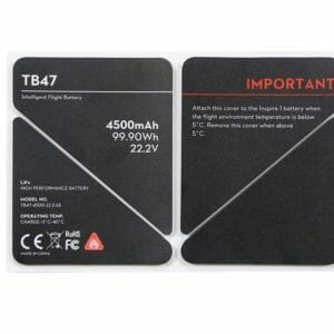 Inspire 1 – Battery insulation Stickers TB47
