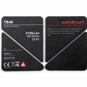 Inspire 1 – Battery Insulation Stickers TB48