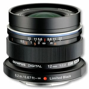 Olympus M.Zuiko 12mm/f2.0