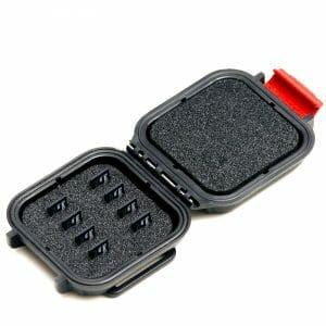 HPRC – Minnekort-ask 8st MicroSD (svart)
