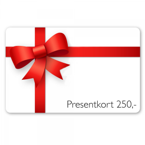 Presentkort – 250kr