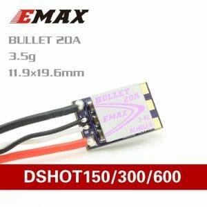 Emax D-SHOT Bullet Series 20A