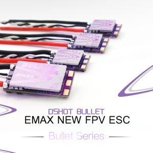 4-pack Emax – D-SHOT Bullet Series 30A (BLHELI_S)