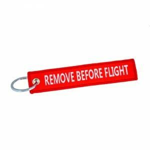 Remove Before Flight – Nyckelring