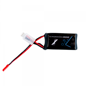 Scandinavian Drone – Black Pax 2S 450mah 35C