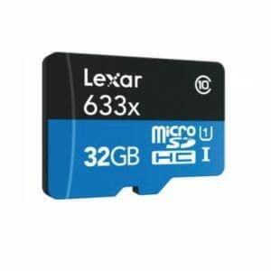 Lexar – MicroSDHC 633x 32GB