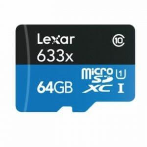 Lexar – MicroSDHC 633x 64GB