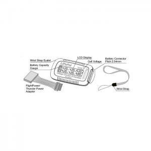 SkyRC – LiPoPal Spänningsmätare