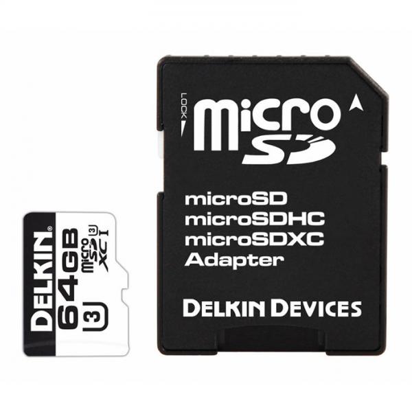Delkin – MicroSD 660x (64GB)