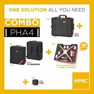 HPRC –Phantom 4 Kombo Koffert och Ryggsäck