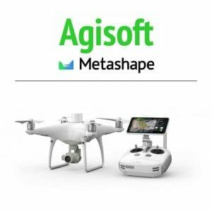 DJI – Phantom 4 RTK + Agisoft Metashape combo